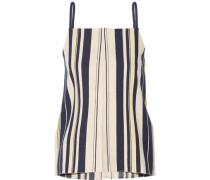 Kymi striped slub silk camisole