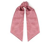 Plumbeach Washed-silk Scarf