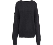 Mélange Knitted Sweater