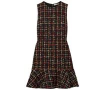 Sonny Minikleid aus Tweed mit Rüschen