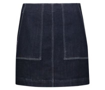 W3 denim mini skirt