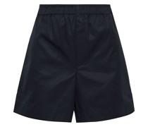 Woman Cotton-twill Shorts Black