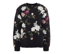 Caitlin Embroidered French Terry Sweatshirt
