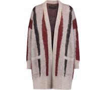 Berbicia textured intarsia-knit cardigan