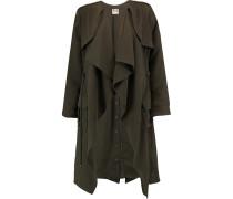 Twill Coat Armeegrün
