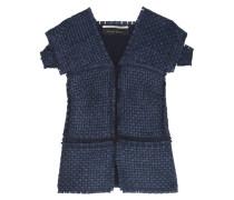 Penfold Lattice-weave Vest Navy