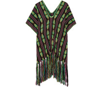Livia Fringed Woven Coverup Mehrfarbig