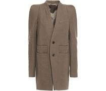 Brushed Wool-twill Coat
