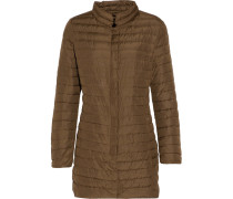 Elare Quilted Shell Down Coat Armeegrün