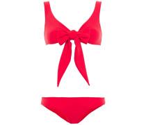 Stretch-crepe Bikini