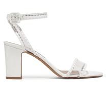 Leticia Sandalen aus Leder und Pvc