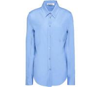 Villelmina cotton-poplin shirt