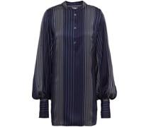 Hemd aus Glänzendem Jacquard mit Streifen