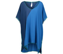 Tamarin Sands color-block picot-trimmed cady coverup