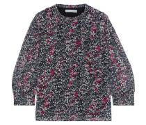 Billie Floral-print Chiffon Blouse