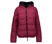 Thia Quilted Shell Down Hooded Coat Plaume