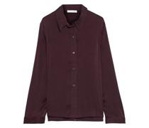 Talise Pyjama-hemd aus Vorgewaschener Stretch-seide