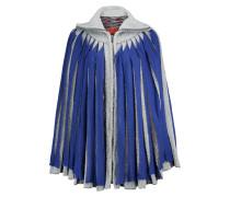 Layered Stretch-knit Poncho Mehrfarbig