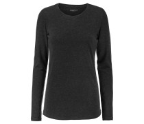Stretch Cotton And Cashmere-blend Top Schiefer