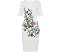 Claire Floral-print Stretch-cotton Dress