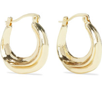 Kerria -plated Hoop Earrings