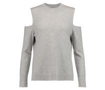Paloma Cutout Cashmere Sweater Hellgrau