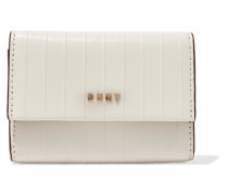 Gansevoort Textured-leather Wallet Creme