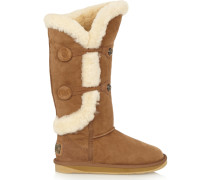 Nordic Shearling Boots Braun