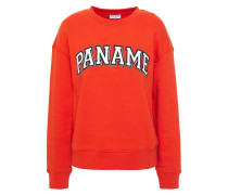 Appliquéd Fleece Sweatshirt