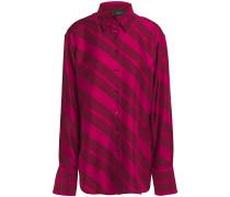 Striped Silk-twill Shirt