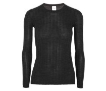 Halki ribbed wool and cashmere-blend sweater