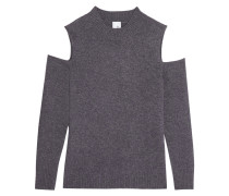 Paloma Cutout Cashmere Sweater Dunkelgrau