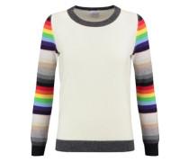 Amelia striped cashmere sweater