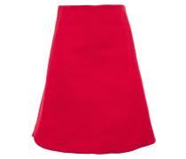 Flared Woven Skirt