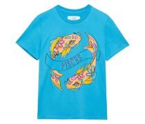 Love Me Starlight Bedrucktes T-shirt aus Baumwoll-jersey