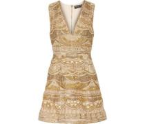Patty embellished silk-chiffon mini dress