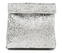 Lunchbag 20 Glittered Leather Clutch