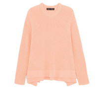 Wool, Cotton And Cashmere-blend Sweater Korall
