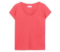 Katie T-shirt aus Baumwoll-jersey mit Flammgarneffekt