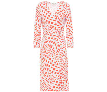 New Julian Two Printed Stretch-jersey Wrap Dress