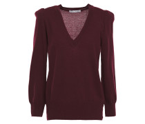 Gathered Cashmere Sweater