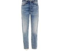 Claudia Hoch Sitzende Jeans mit Geradem Bein
