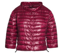 Elena Quilted Shell Down Jacket Plaume