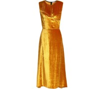 Metallic Chenille Midi Dress