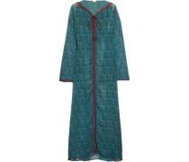 Printed silk-georgette jacket