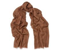 Connie Cotton, Cashmere And Silk-blend Scarf Braun