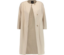 Ellinor Cotton-blend Coat Ecru
