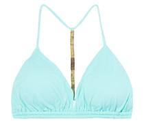 Bondi Triangel-bikini-oberteil mit Zierperlen