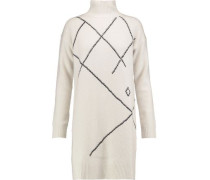Merino wool and cashmere-blend dress