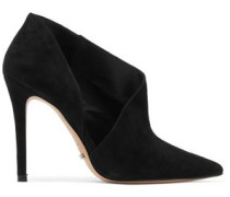Leevina cutout suede boots